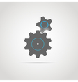 Glowing Gears copy vector image
