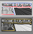 layouts for las vegas vector image vector image