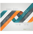 Modern spiral options banner vector image