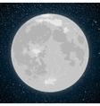 Starry night sky stars moon