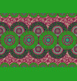 african wax print fabric ethnic handmade flowers vector image