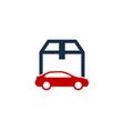 automotive box logo icon design vector image vector image