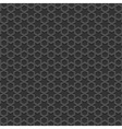 Black textured Islamic pattern vector image vector image