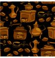 coffee handdraw seaml 3 380 vector image vector image
