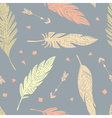 Feather seamless pattern