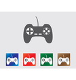 Game controller icons vector image