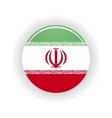 Iran icon circle vector image
