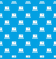 movie theater screen pattern seamless blue vector image vector image