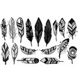 peerless tribal design of decorative black vector image