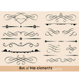 set of design elements vector vector image vector image
