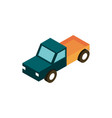 transport pickup vehicle isometric icon vector image