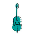cello musical instrument icon image vector image vector image
