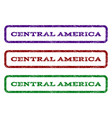 central america watermark stamp vector image vector image