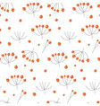 elegant seamless pattern with hand drawn vector image vector image