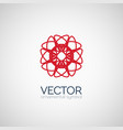 geometric symbol vector image vector image