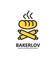 logo of fresh bread vector image vector image