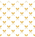 Paddles pattern cartoon style vector image vector image