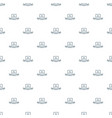 social network pattern seamless vector image vector image