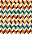vintage zigzag seamless pattern vector image