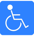 A disabled sign vector image