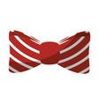 bow tie fashion vector image