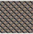 Design seamless motley diagonal helix pattern vector image vector image
