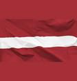 flag latvia vector image