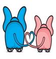 Slonce srce ljubav resize vector image vector image