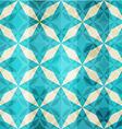 vintage blue mosaic star seamless vector image vector image