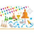 design of songkran festival