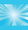 abstract blue rays background vector image vector image