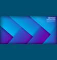 abstract shapes with blue gradient background vector image vector image