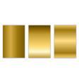 gold gradient background texture metallic vector image