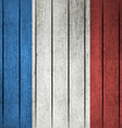 Grunge Flag Of France vector image