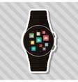 Icon of Smart watch design vector image