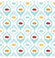 ikat fabric style rug texture pattern vector image vector image