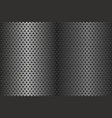 metal perforated texture vector image