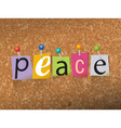 Peace Concept vector image vector image
