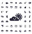 Sunny weather icon