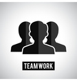 Team work icon vector image vector image
