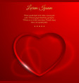 valentines day background concept vector image vector image