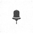 Hand drawn textured ship bell symbol Nautical vector image