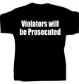 witty tshirt vector image