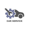 car service icon care repair logo eps vector image