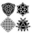 decorative arabic ornaments set tattoo design vector image