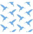 Hummingbird Pattern vector image vector image