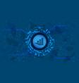idex token symbol defi project in circle vector image vector image