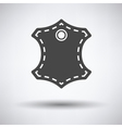 Leather sign icon vector image