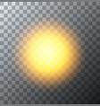 modern sun background sunshine design vector image vector image