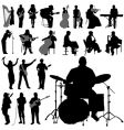 musician set vector image vector image